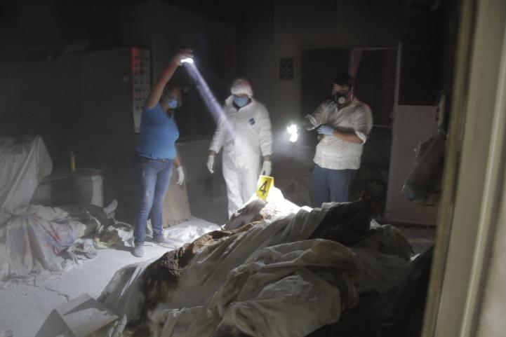 Hallan niños entre los 60 cuerpos del crematorio abandonado en Acapulco