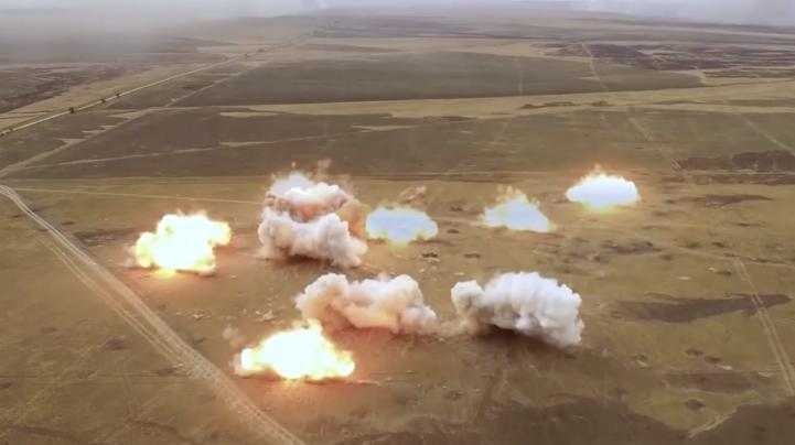 Rusia practica ejercicios militares