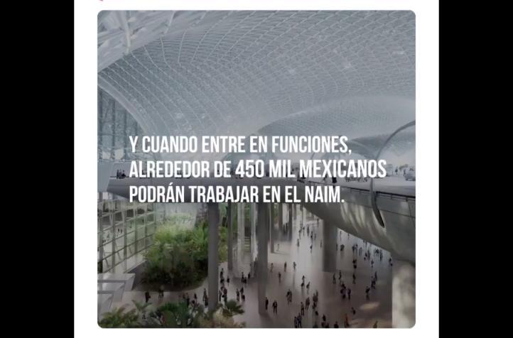 Defiende Presidencia la construcción del aeropuerto en Texcoco