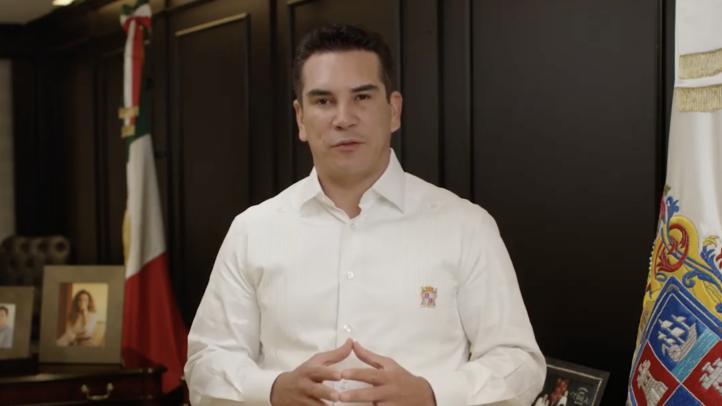Moreno anuncia que pidió licencia como gobernador de Campeche
