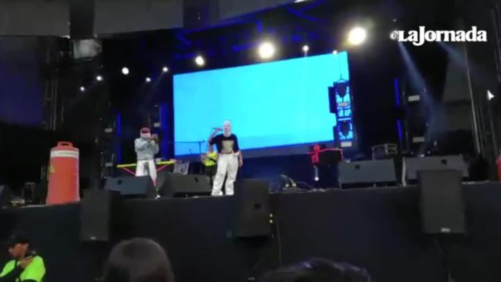 Mensaje de Pussy Riot en el Festval Ceremonia