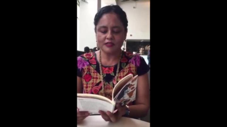Natalia Toledo presenta libro bilingüe de poemas