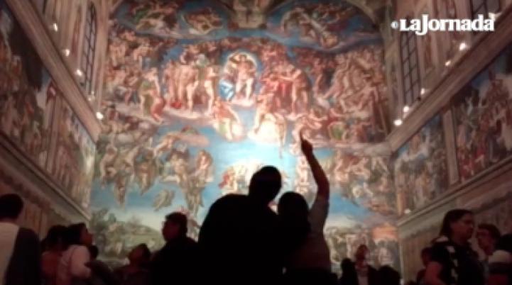 Inauguran reproducción de La capilla sixtina, de Miguel Ángel