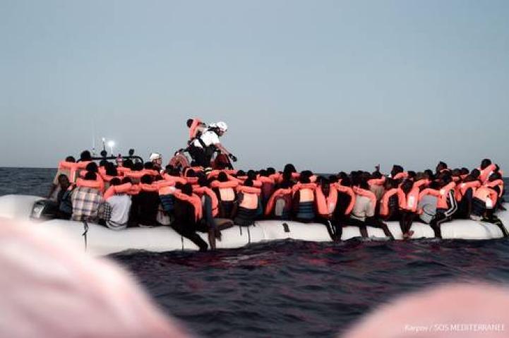 Servicio marítimo de España rescata a más de 150 migrantes