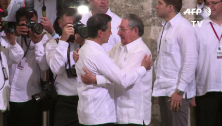 La histórica visita de Estado del presidente cubano Raúl Castro