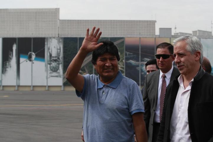 """Agradece Evo Morales asilo a México; """"me salvaron la vida"""", dijo"""