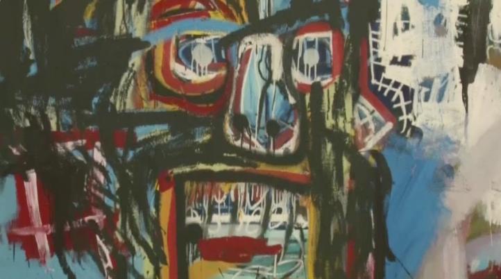A 30 años de su muerte, exposición dedicada a Basquiat