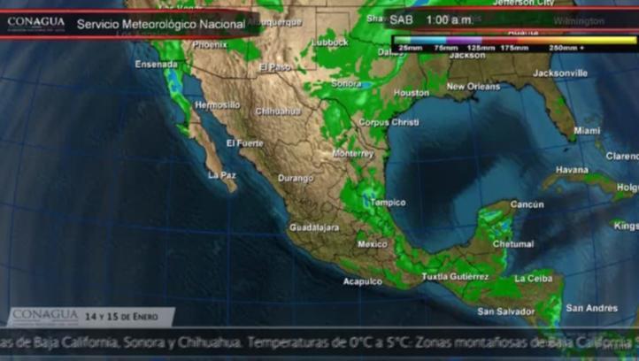 Pronóstico del tiempo para los días 14 y 15