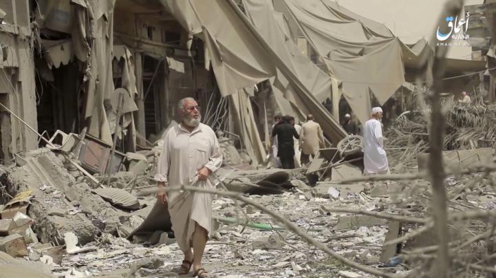Se intensifican los combates en Raqqa, Siria