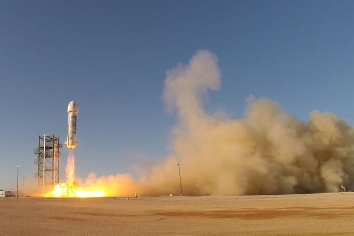 El primer cohete espacial reutilizable