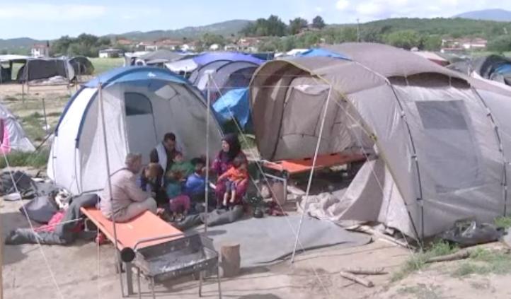 Condiciones inhumanas en campamento de Idomeni