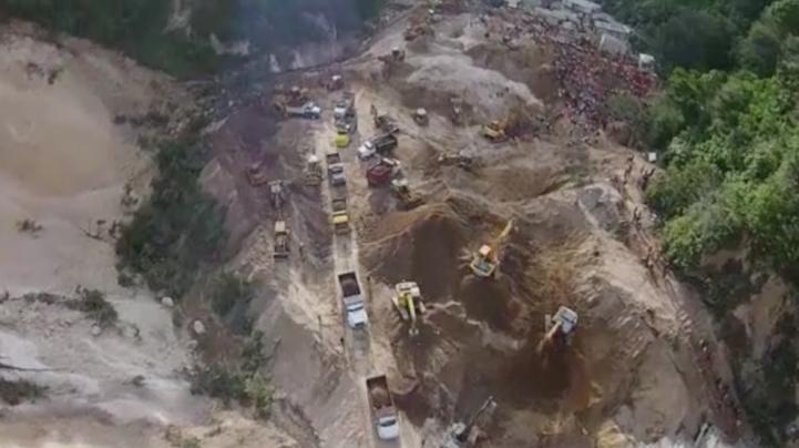 Descartan hallar más sobrevivientes en deslave en Guatemala