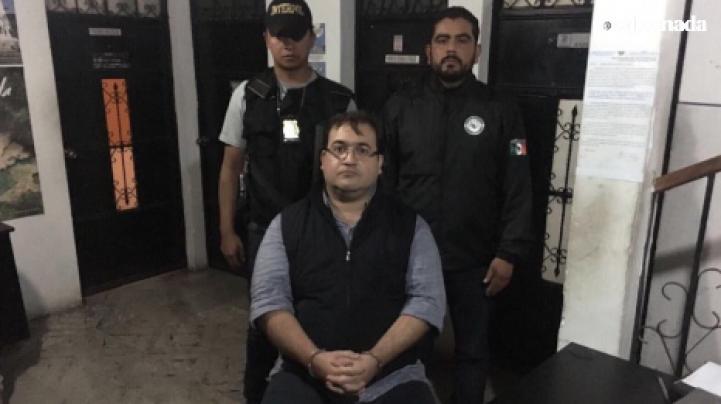Javier Duarte es detenido en Guatemala