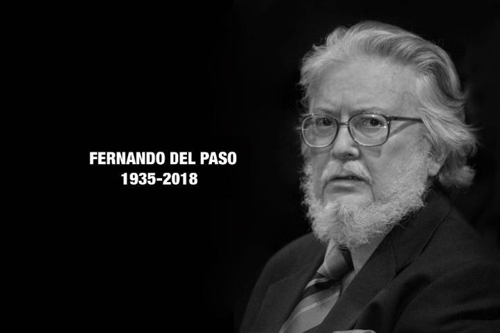 """Fernando del Paso (1935-2018), """"hombre de izquierda confeso"""""""
