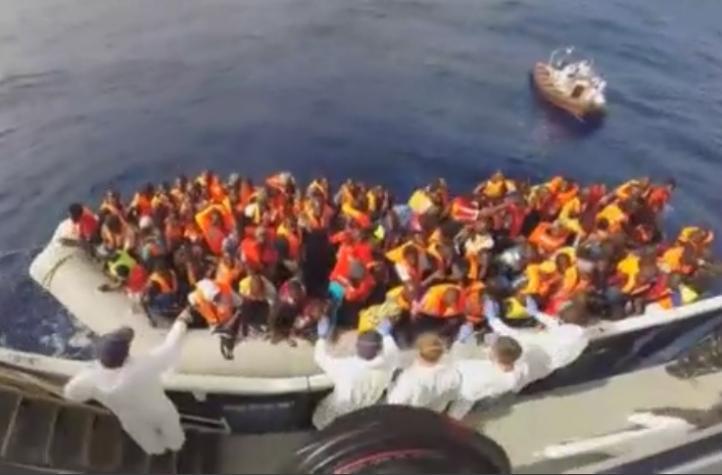 Malta: Voluntarios salvan migrantes en el Mediterraneo