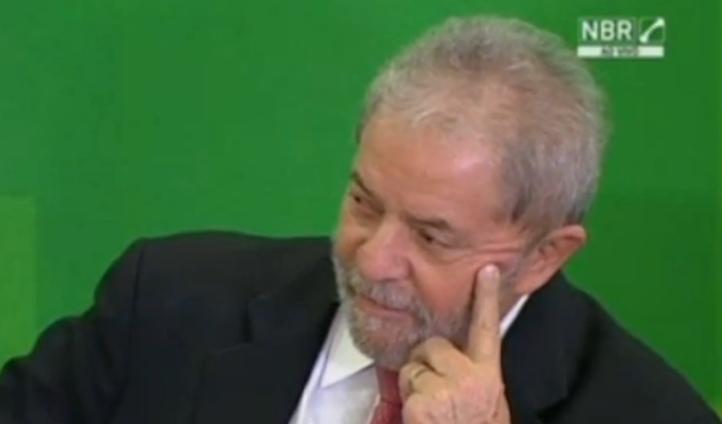 Lula da Silva, jefe de gabinete en Brasil