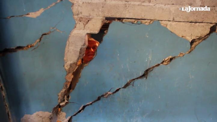 Iztapalapa: casas a punto del colapso por grietas en el subsuelo