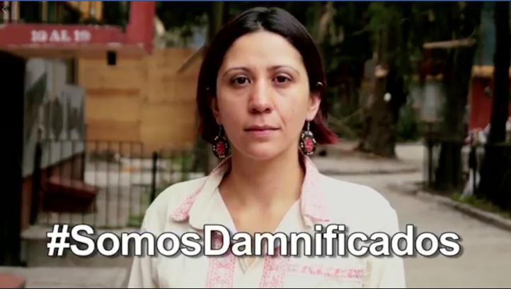 Damnificados del 19/S piden cadena de mensajes