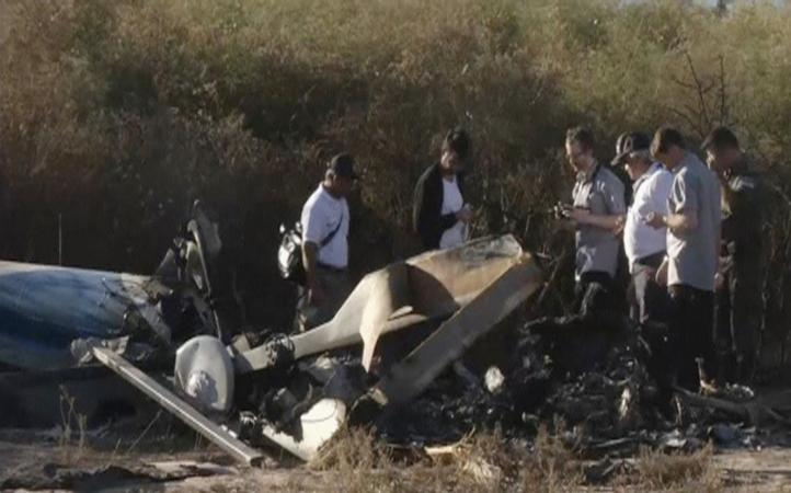 Argentina: Expertos examinan escena de accidente