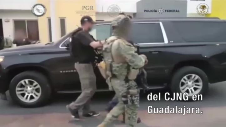 Capturan al presunto jefe de sicarios del CJNG en Guadalajara