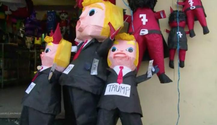 """""""Queman"""" a Donald Trump en Guatemala"""