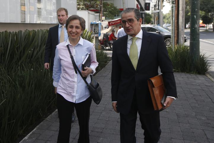 """No llegamos a un acuerdo"", dice Aristegui, tras reunión con MVS"