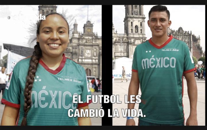 El futbol les cambio la vida