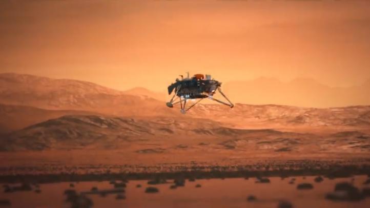 La sonda espacial InSight aterrizará en Marte este lunes
