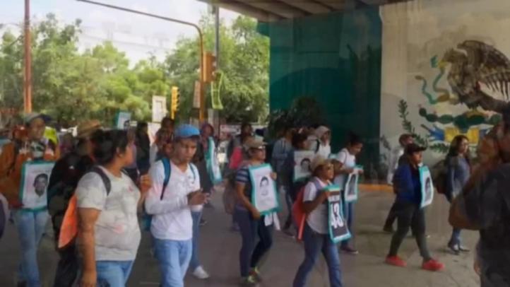 Marchan en Iguala por Segundo Aniversario de caso Ayotzinapa
