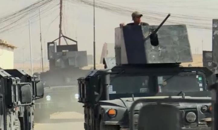 Continúa avance militar en Mosul