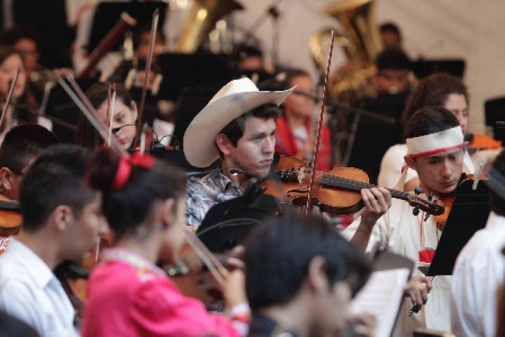 Música en Armonía: Concierto con 300 niños y jóvenes de todo el país