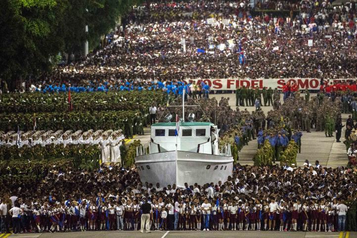 Rinden homenaje a Fidel Castro en La Habana