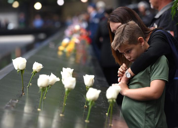 Ceremonias solemnes para víctimas de las torres gemelas