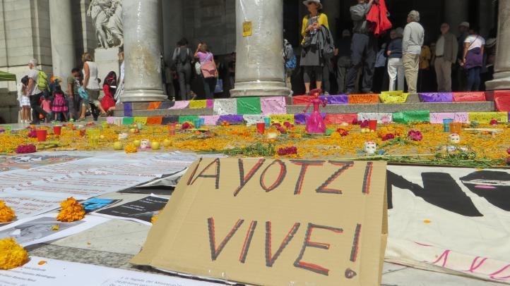 Honran a quienes han muerto a causa de la violencia e inseguridad
