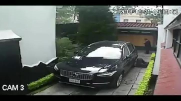 Difunden video del ataque a la casa de Norberto Rivera
