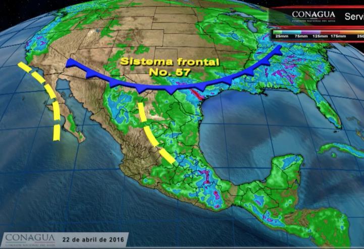 Pronóstico del tiempo para el 22 de abril