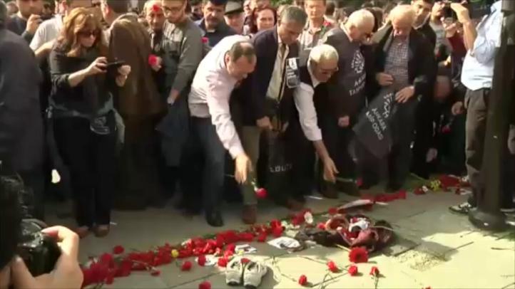 Nueva protesta en Ankara