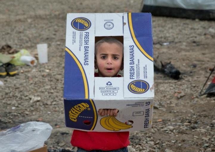El 70 por ciento de los niños del campamento de Idomeni están enfermos