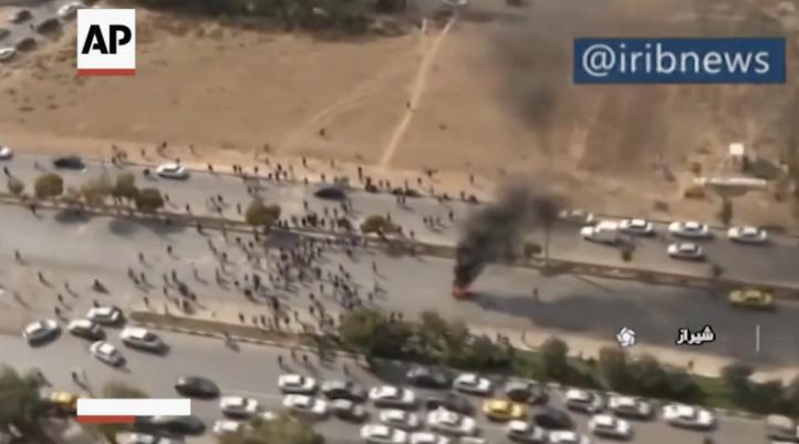 """TV iraní admite muerte de """"provocadores"""" en protestas"""