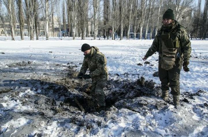Guerra en Ucrania deja sin calefacción a una zona que ronda los 20 grados bajo cero