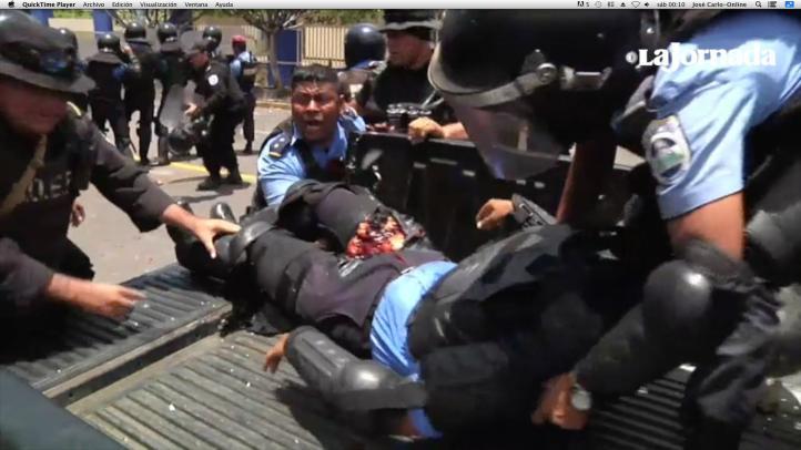 Segundo día de enfrentamientos en Nicaragua