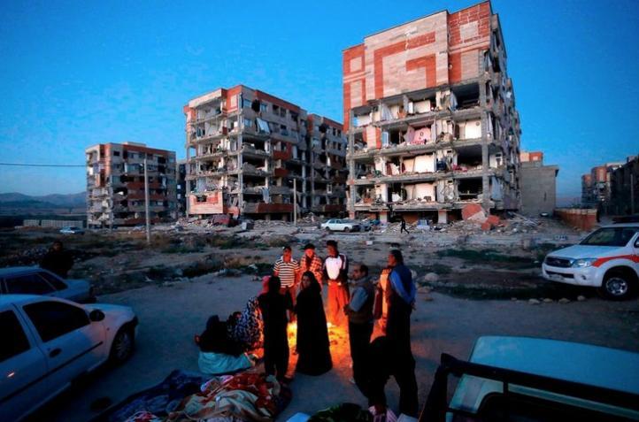 Terremoto en la frontera entre Irak e Irán