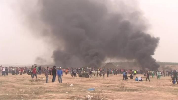 Miles protestan en frontera Israel-Gaza por sexta vez