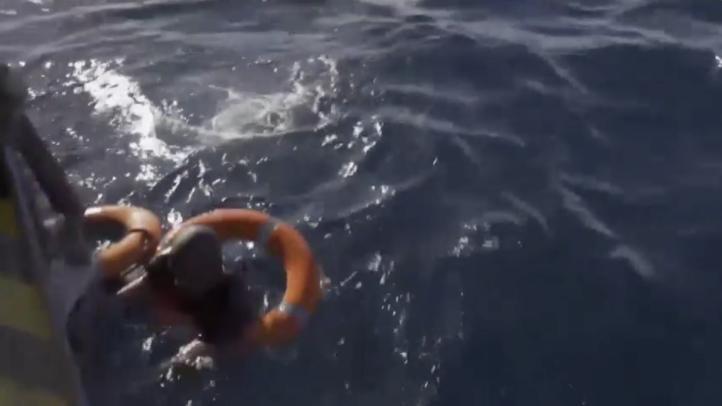 Un migrante fue rescatado en aguas cercanas a Malta