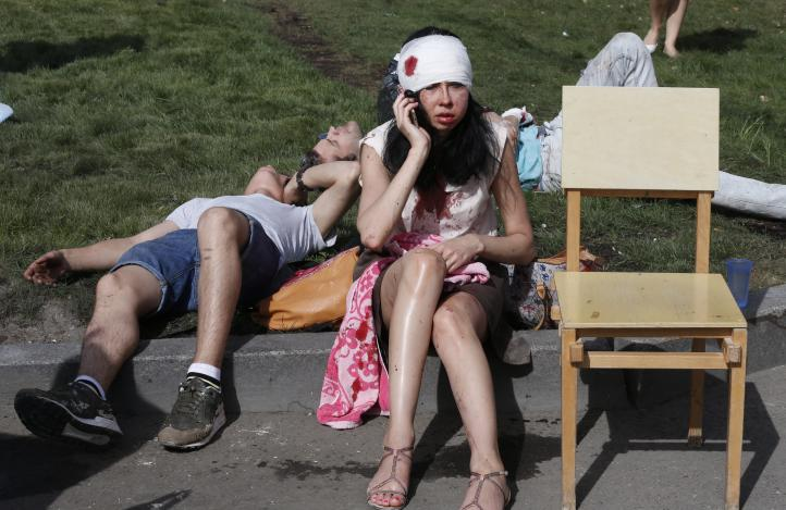 Dos detenidos en investigación por accidente en el metro de Moscú