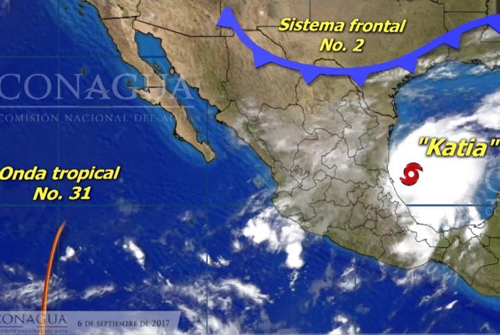 Pronóstico del tiempo para el 6 de septiembre