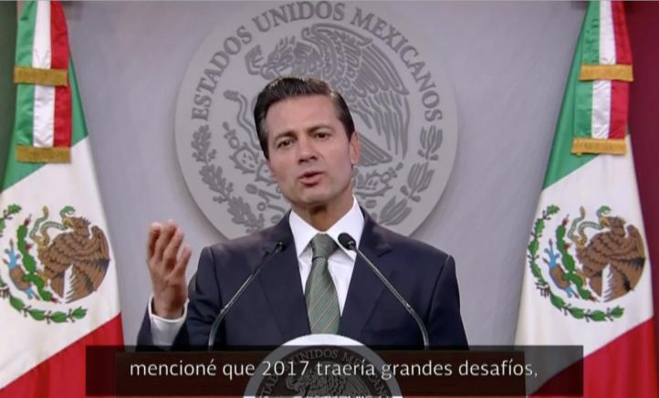 Vendrán momentos complejos en relación de México y EU: Peña Nieto