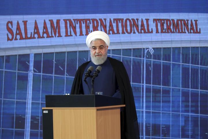 El presidente de Irán niega que su país busque una guerra