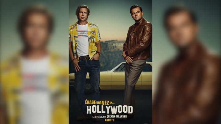 DiCaprio y Pitt protagonizan el póster del filme de Tarantino