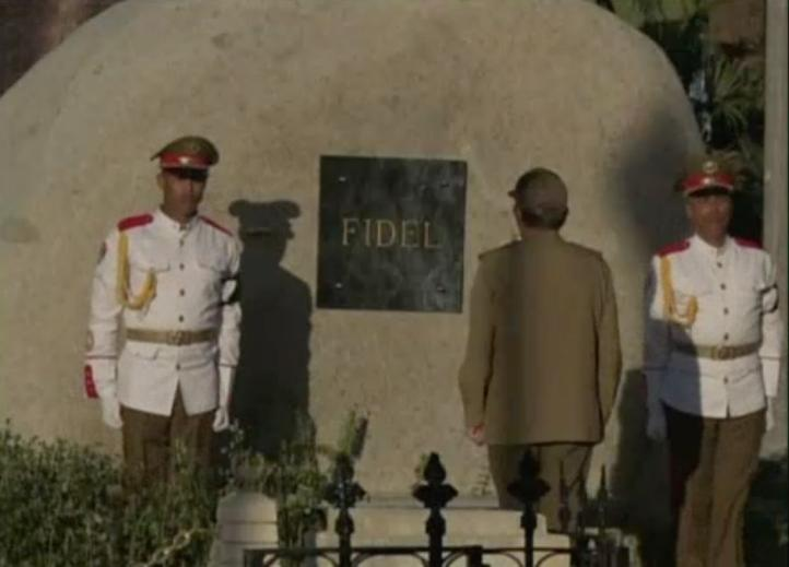 Las cenizas de Fidel ya se encuentran en el cementerio de Santa Ifigenia